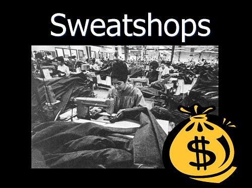 ethics and sweatshops It is provided for the daniels fund ethics initiative at the nike: managing ethical missteps— sweatshops to was made in honduran sweatshops that.